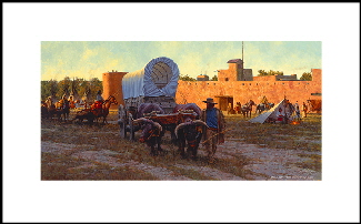 Bent's Fort - Trade Center of the Plains print whb